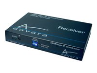 Aavara HDMI over IP with IR/RS-232 PB5000+PoE Receiver Unit - Video/lyd/infrarød-utvider - GigE - opp til 100 m PB5000R+E