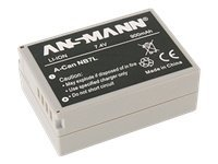 Ansmann A-Can NB 7 L - Kamerabatteri Li-Ion 900 mAh - for Canon PowerShot G10, G11, G12, SX30 IS 5044523