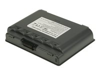 2-Power - Batteri til bærbar PC - 1 x litiumion 2600 mAh - mørk grå - for Fujitsu LIFEBOOK A3110 CBI2069A
