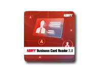 ABBYY Business Card Reader - (v. 2.0) - lisens - 1 bruker - installert lokalt - ESD - Win - Multilingual BCR200XXFUMW0OXX