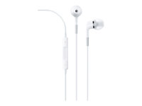 Apple In-Ear Headphones with Remote and Mic - Ørepropper med mikrofon - i øret - kablet - 3,5 mm jakk - for 12.9-inch iPad Pro; 9.7-inch iPad Pro; iPad (3rd generation); iPad 1; 2; iPad Air ME186ZM/B