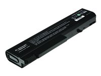 2-Power Main Battery Pack - Batteri til bærbar PC - 1 x litiumion 6-cellers 4400 mAh - svart - for HP EliteBook 6930p CBI3064A
