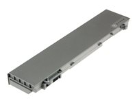 2-Power Main Battery Pack - Batteri til bærbar PC - 1 x litiumion 6-cellers 5200 mAh - metallgrå - for Dell Latitude E6400 CBI3158A